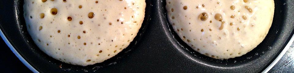 Amerikanske pandekager, stegning